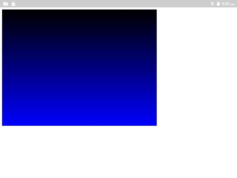 Canvas gradient