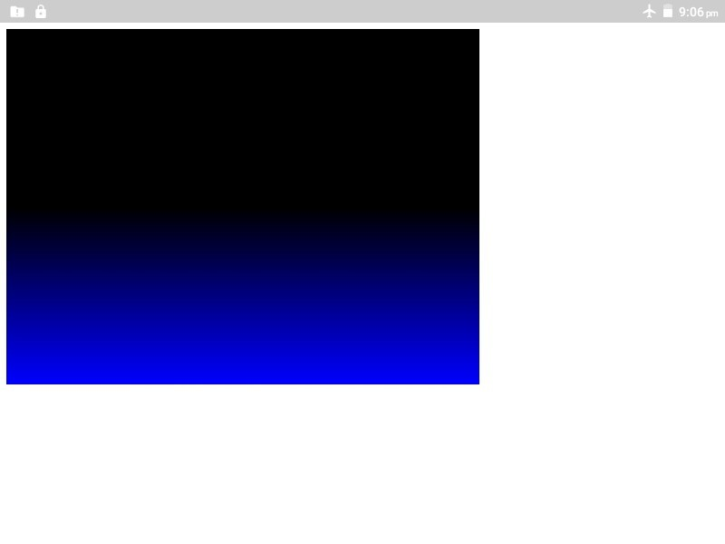 Canvas linear gradient