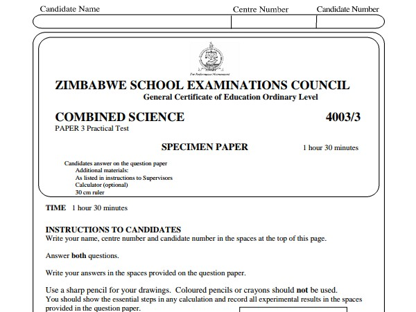 Zimsec Combined Science Specimen Paper 3.pdf