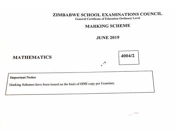 IMG 20201124 185750 352 Zimsec June 2019 Maths O Level Paper 2 Marking scheme.pdf