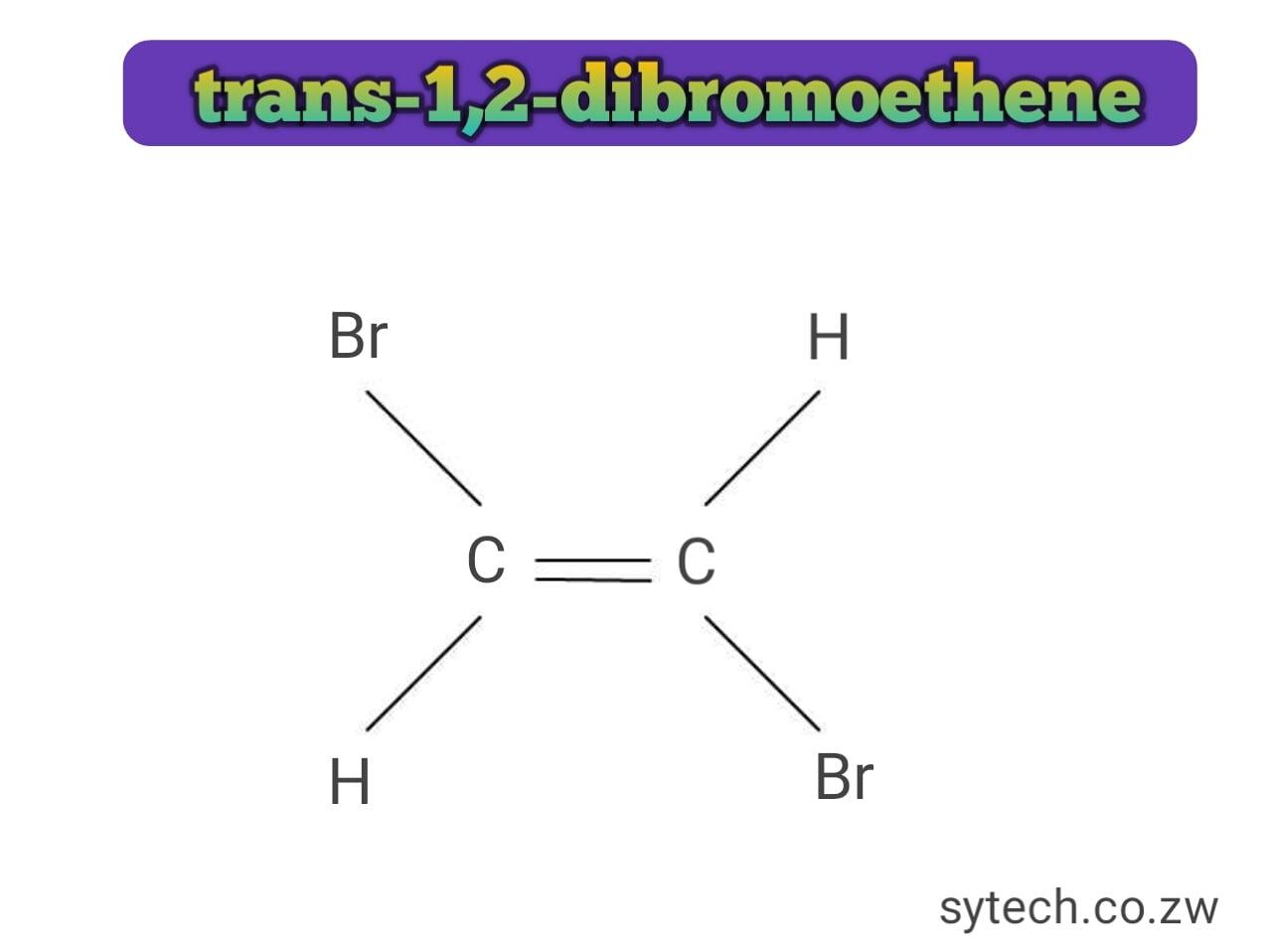 trans-1,2-dibromoethene