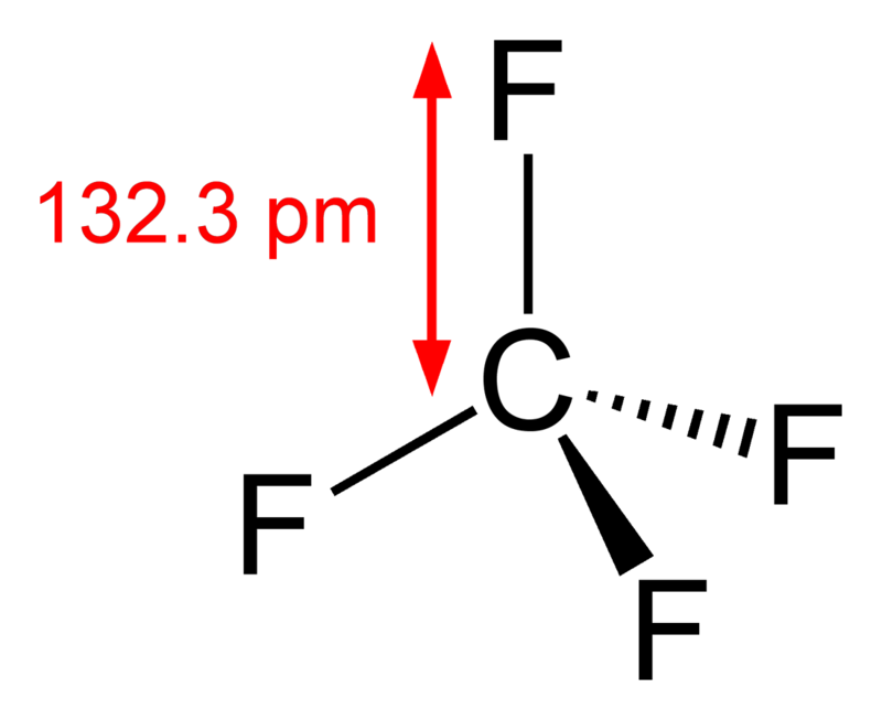 Tetrafluoromethane