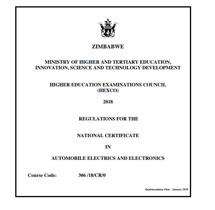 N.C. Automobile Electrics And Electronics Syllabus.pdf