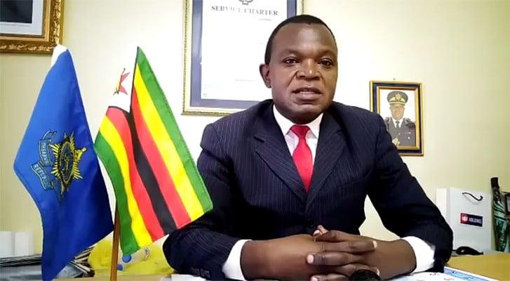 National police spokesperson Assistant Commissioner Paul Nyathi