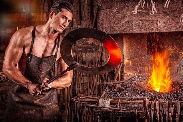 blacksmith 2740128 640 Calculations involving Specific Heat Capacity (Engineering Science)