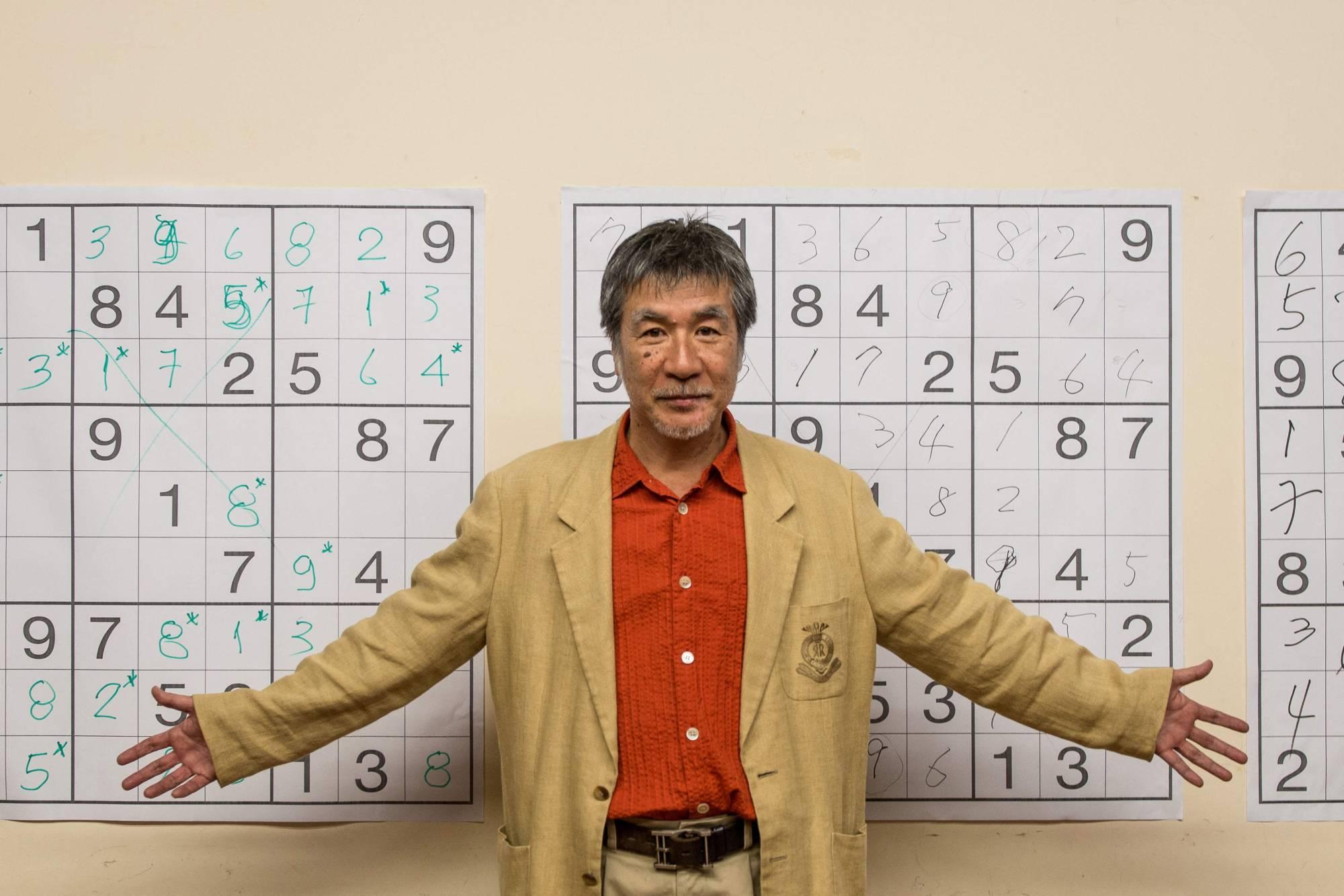 np file 106539 Maki Kaji, creator of Sudoku dies aged 69
