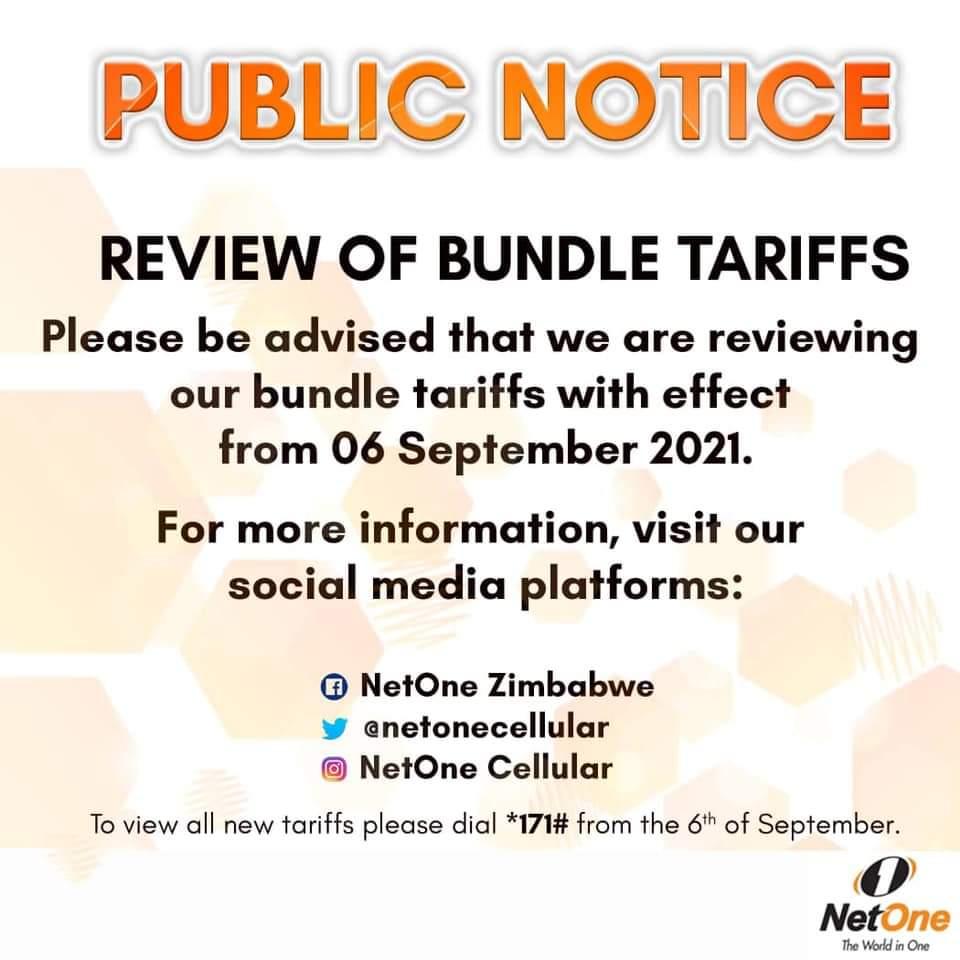 NetOne To Review Bundle Tariffs On 6 September