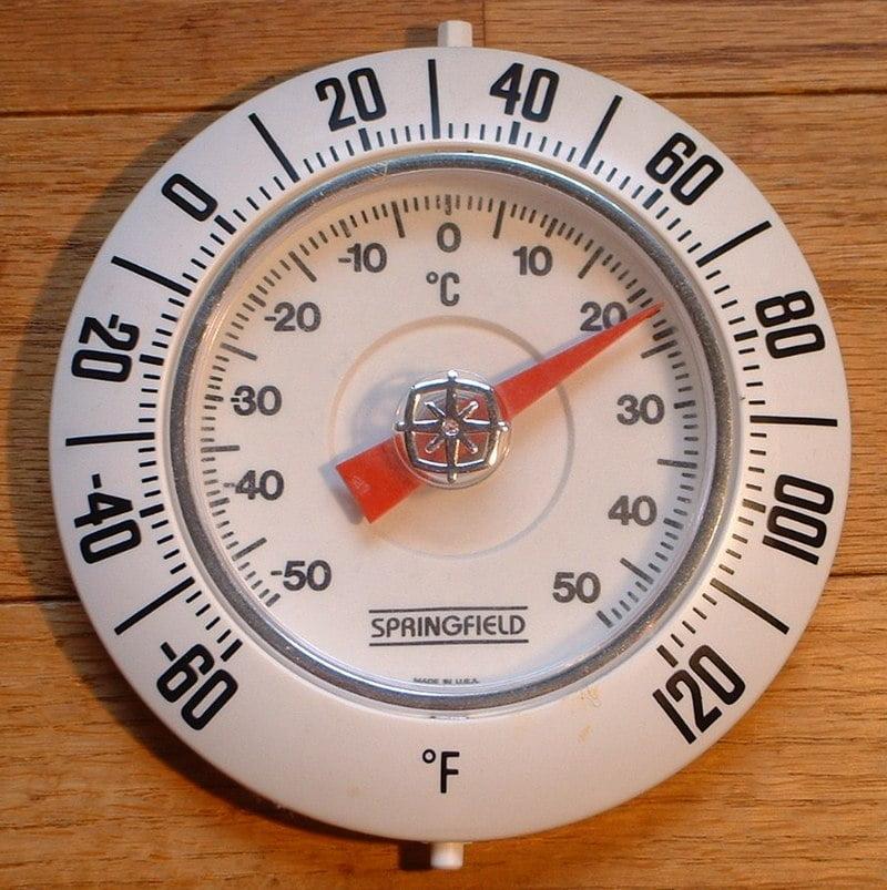 Raumthermometer FahrenheitCelsius Fahrenheit Scale vs Celsius Scale