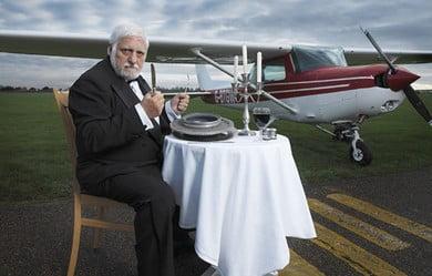 Frenchman Michel Lotito Once Ate A Whole Aeroplane, A Real Aeroplane